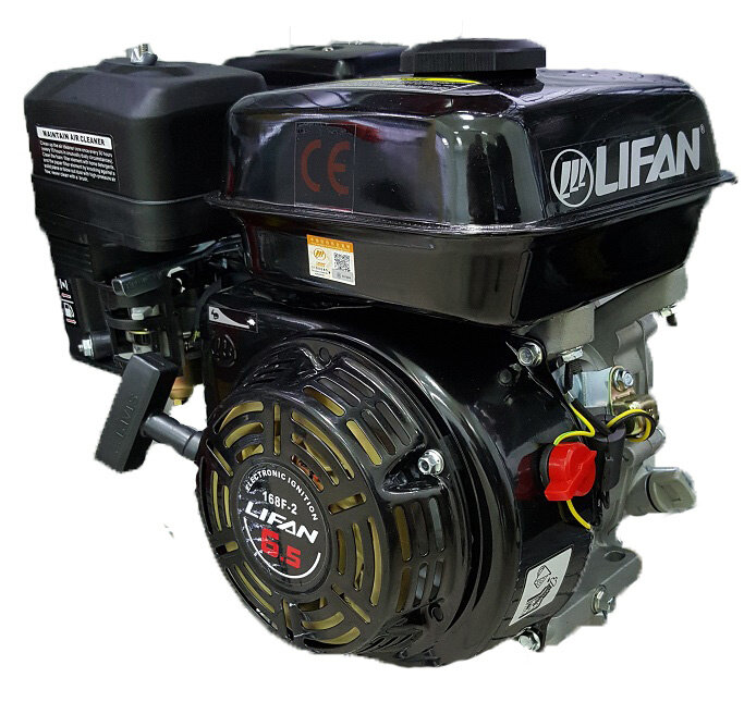 Двигатель Lifan 168 F-2 на мотоблок МБ с доставкой от motoblokmarket.ru