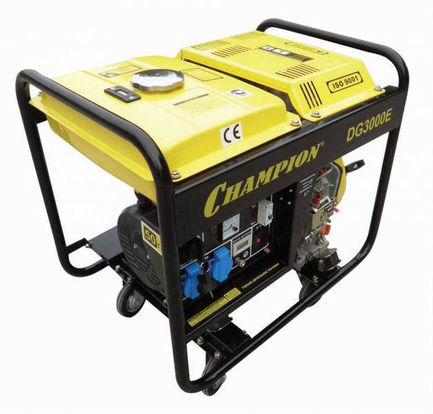 Дизельный генератор Champion DG3000E