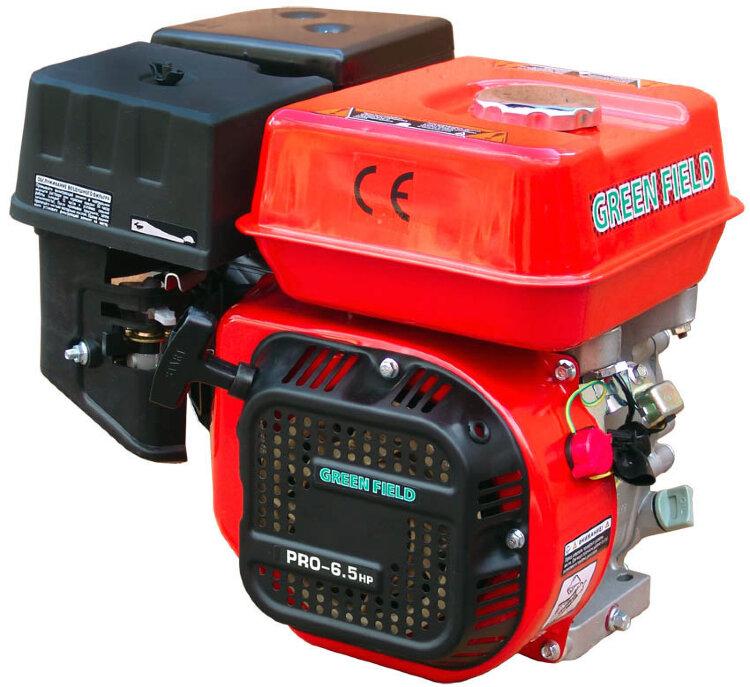 Двигатель GREEN-FIELD PRO-6.5HP GX200 с доставкой по Москве motoblokmarket.ru