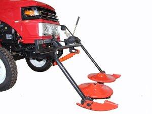 Роторная косилка для мини трактора с гидравликой