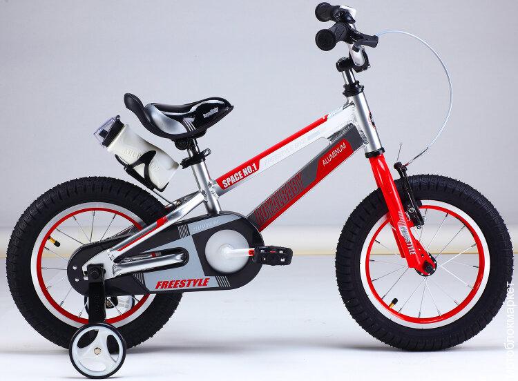 "Детский велосипед Royal Baby Freestyle Space №1 Alloy 14"""