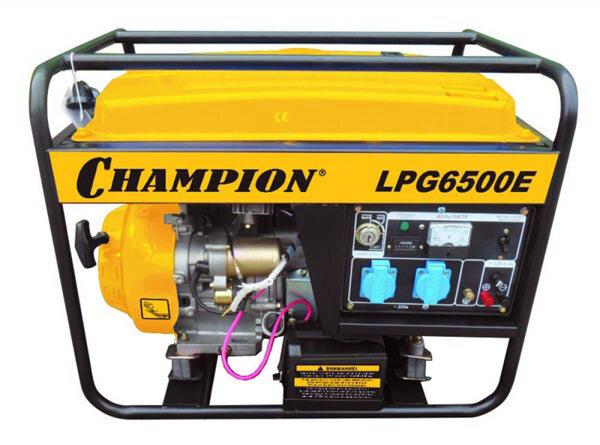 Газо-бензиновый генератор Champion LPG6500E