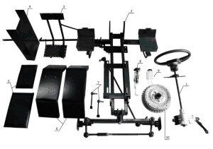 Набор для переоборудования мотоблока в мини-трактор базовая