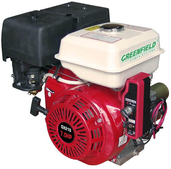 Двигатель с электростаретером Greenfield GF 170FE (7 л.с.) с доставкой по Москве motoblokmarket.ru
