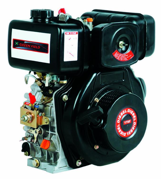 Дизельный двигатель GREEN-FIELD LT 178 F на мотоблоки и выброплиты от motoblokmarket.ru