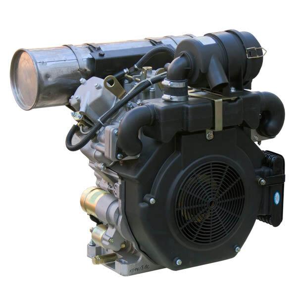 Дизельный двухцилиндровый двигатель Greenfield KD2V86F-1 для минитрактора