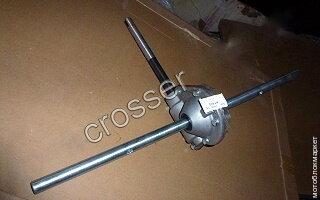 Редуктор шнека для снегоуборщика crosser CR-SN-1,2 (желтый)