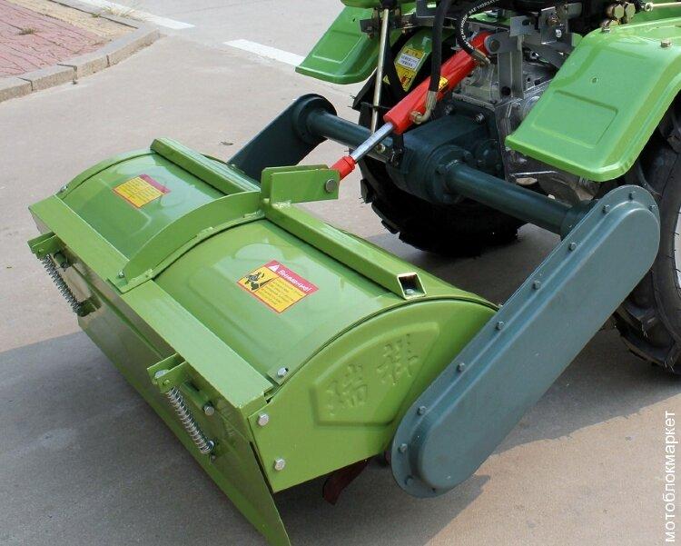 Усиленная фреза на Китайский мини трактор