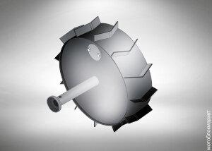 Грунтозацепы для мотоблока засыпные (Целина МБ, Каскад) Арт. 010126