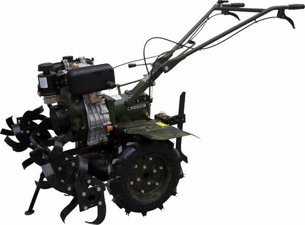 Мощный дизельный мотоблок CROSSER CR-M9