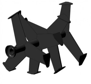 Фрезы «Гусиные лапки» для мотоблоков (2 шт)